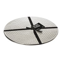 The Just Slate Company Flat Hammered Steel Placemats Set Of 2
