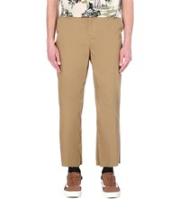 Blackfist Wide Leg Cotton Chinos Khaki