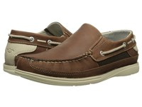 Dockers Chalmers Tan Oily Crazyhorse Men's Slip On Shoes Brown
