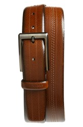 Ted Baker 'S London Aggra Leather Belt Tan