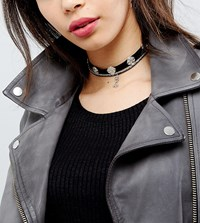 Reclaimed Vintage Inspired Multilayer Western Chokers Silver