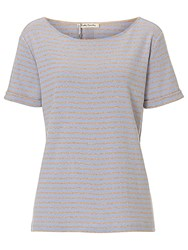 Betty Barclay Striped T Shirt Camel Blue