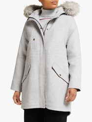 John Lewis Collection Weekend By Parka Grey Marl