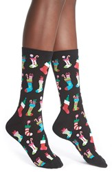 Women's Hot Sox 'Christmas Stockings' Crew Socks