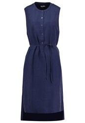 Filippa K Summer Dress Bright Navy Blue