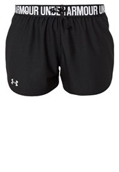 Under Armour Play Up Sports Shorts Schwarz Silber Black