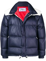 Lc23 Puffer Jacket Blue