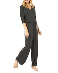 Phase Eight Cindy Jersey Jumpsuit Charcoal