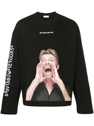 Ih Nom Uh Nit 'Bowie Scream' Sweatshirt Black