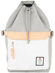 As2ov Drawstring Backpack Grey