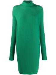 Christian Wijnants Koha Turtle Neck Dress Green