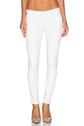 Paige Verdugo Skinny Distressed Optic White