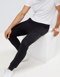 D Struct Pique Slim Fit Joggers Black