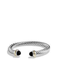 Cable Classics Bracelet With Black Onyx And Gold David Yurman