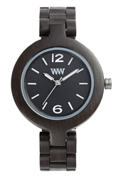 Wewood 'Mimosa' Wood Bracelet Watch 29Mm Black