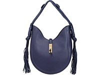 Altuzarra Ghianda Bullrope Small Hobo Bag Navy