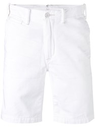 Polo Ralph Lauren Chino Shorts Men Cotton 30 White