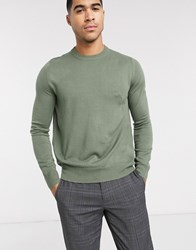 Rudie Crew Neck Jumper Green