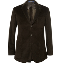 Polo Ralph Lauren Morgan Slim Fit Corduroy Blazer Brown