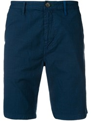 Paul Smith Ps Slim Fit Deck Shorts Blue