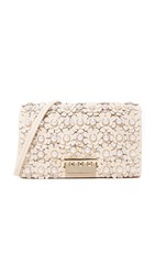 Zac Posen Earthette Floral Cross Body Bag Ivory
