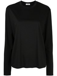 Jil Sander Plain Blouse Black