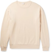 Dries Van Noten Hoxton Oversized Cotton Jersey Sweatshirt Cream