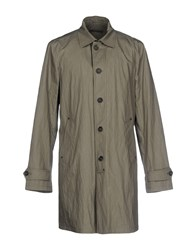 John Varvatos Overcoats Military Green