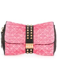 Louis Vuitton Vintage 'Monogram' Coquette Clutch Pink Purple