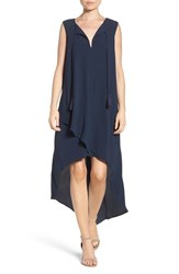 Adelyn Rae Women's High Low Dress Navy
