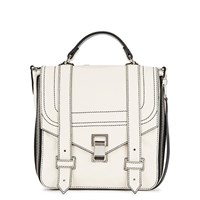 Proenza Schouler Ps1 White Leather Backpack