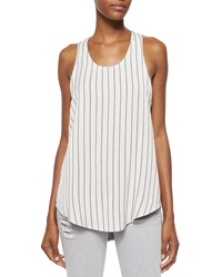 Iro Coleen Sleeveless Striped Racerback Top