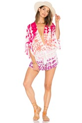 Young Fabulous And Broke Ashley Romper Pink