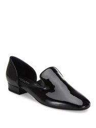 Michael Kors Fielding Patent Leather D'orsay Loafers Black