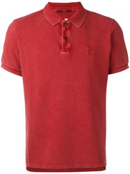 C.P. Company Cp Fitted Polo Top Men Cotton Xl Red