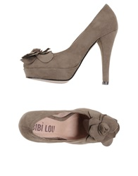 Bibi Lou Pumps Dove Grey