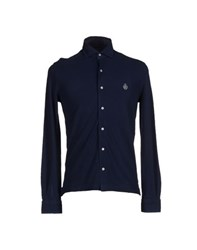 Della Ciana Shirts Shirts Men Dark Blue