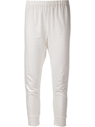 Arts And Science Loose Fit Leggings White