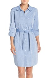 Women's Nydj 'Kaylin' Chambray Shirtdress