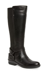 David Tate Memphis 16 Stretch Back Boot Black Leather