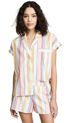Madewell Bedtime Pajama Top Pale Parchment