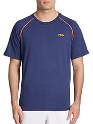 Fila Stitched Up Tee Navy