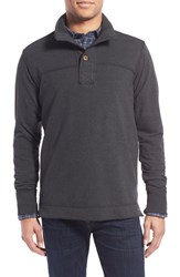 Men's Jeremiah 'Taylor' French Terry Mock Neck Pullover Phantom Heather