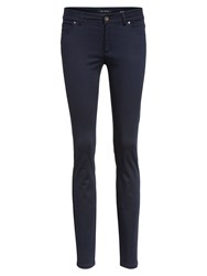 Marc O'polo Trousers Five Pocket Style Blue