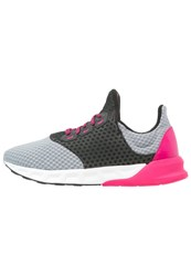 Adidas Performance Falcon Elite 5 Cushioned Running Shoes Midnight Grey Bold Pink Core Black