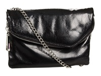 Hobo Daria Black Vintage Leather Clutch Handbags