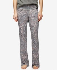 A Pea In The Pod Maternity Printed Pajama Pants Paisley Print