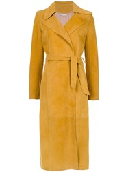 Spacenk Nk Trench Coat Yellow And Orange