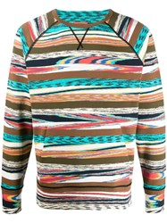 Missoni Abstract Striped Pattern Sweatshirt 60
