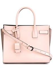 Saint Laurent Small 'Sac De Jour' Tote Pink And Purple